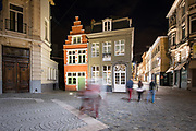 Ghent, Belgium, Story goes that Arsene Goedertier would have hidden the panel of The Just Judges from The Mystic Lamb underneath the Kalendeberg. A new theory by Marc de Bel