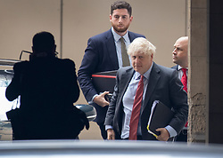© Licensed to London News Pictures. 22/09/2020. London, UK. Prime Minister Boris Johnson arrives at Parliament where he will make a statement on new Covid-19 lockdown measures. Photo credit: Peter Macdiarmid/LNP