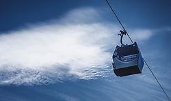 THEMENBILD - eine 10er Gondel der neuen MK Maiskogelbahn, aufgenommen am 15. November 2018 in Kaprun, Österreich // the 10-passenger gondola of the new MK Maiskogelbahn, Kaprun, Austria on 2018/11/15. EXPA Pictures © 2018, PhotoCredit: EXPA/ Stefanie Oberhauser