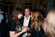 Kate Reardon and Michael Roberts host a party to celebrate the launch of Vanity Fair on Couture. The Ballroom, Moet Hennessy, 13 Grosvenor Crescent. London. 27 October 2010. -DO NOT ARCHIVE-© Copyright Photograph by Dafydd Jones. 248 Clapham Rd. London SW9 0PZ. Tel 0207 820 0771. www.dafjones.com.