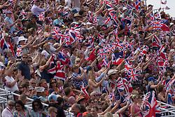 Britisch supporters<br /> Olympic Games London 2012<br /> © Dirk Caremans