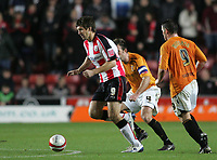 Photo: Lee Earle/Sportsbeat Images.<br /> Southampton v Hull City. Coca Cola Championship. 08/12/2007. Southampton's Grzegorz Rasiak (L) came on late in the game.