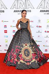 AU_1417480 - Sydney, AUSTRALIA  -  Nicole Kidman and Keith Urban Join Celebrities at the 32nd Annual ARIA Awards 2018 - Red Carpet Arrivals<br /> <br /> Pictured: Mya<br /> <br /> BACKGRID Australia 28 NOVEMBER 2018 <br /> <br /> BYLINE MUST READ: Brandon Voight / BACKGRID<br /> <br /> Phone: + 61 2 8719 0598<br /> Email:  photos@backgrid.com.au