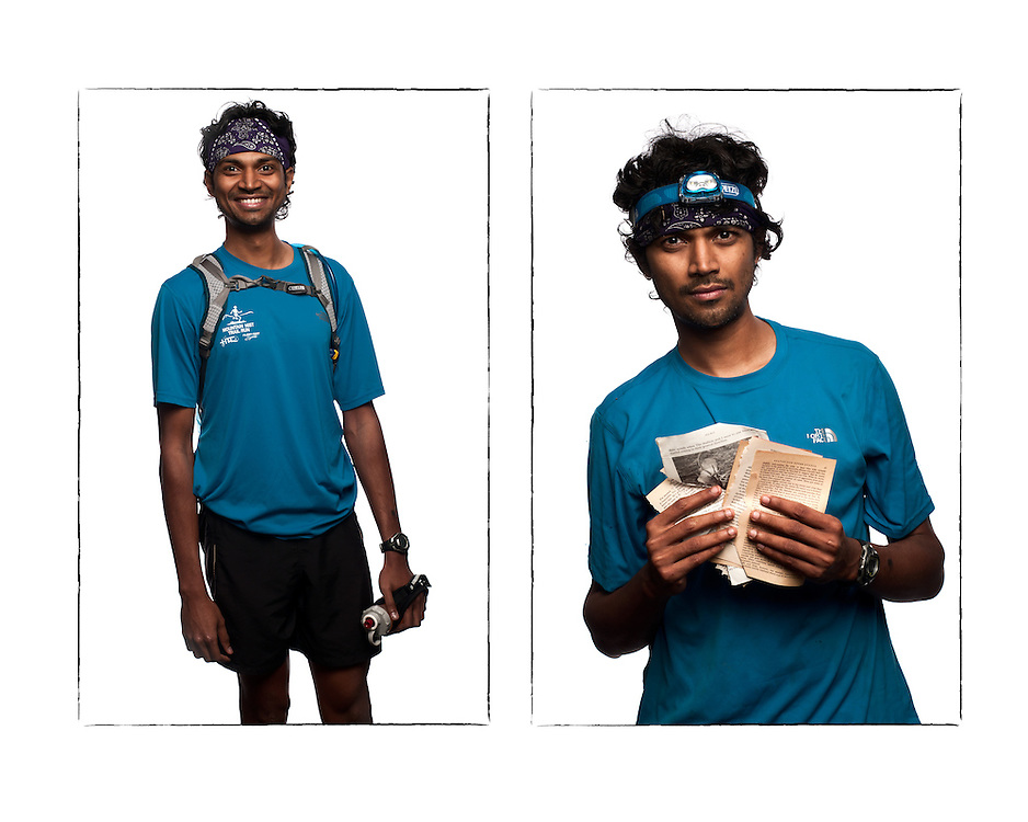 Naresh Kumar, 29, Chennai, India (Living in Nashville, TN).<br /> Your profession: Software Engineer.<br /> Number of Barkley starts: 0.<br /> Why are you running the Barkley? Because I am stupid.<br /> Your predicted finish results: Finish Fun Run (3 Loops, 60 miles.) Actual results: D.N.F. (Did Not Finish) 18:46,  Over cutoff, loop 1.