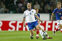 Fotball<br /> Privatlandskamp<br /> Frankrike v Bosnia & Herzegovina<br /> 18. august 2004<br /> Foto: Digitalsport<br /> NORWAY ONLY<br /> SERGEJ BARBAREZ (BOS)