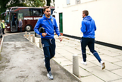 Edward Upson of Bristol Rovers arrives at The Crown Oil Arena for the Sky Bet League One fixture with Rochdale - Mandatory by-line: Robbie Stephenson/JMP - 02/10/2018 - FOOTBALL - Crown Oil Arena - Rochdale, England - Rochdale v Bristol Rovers - Sky Bet League One