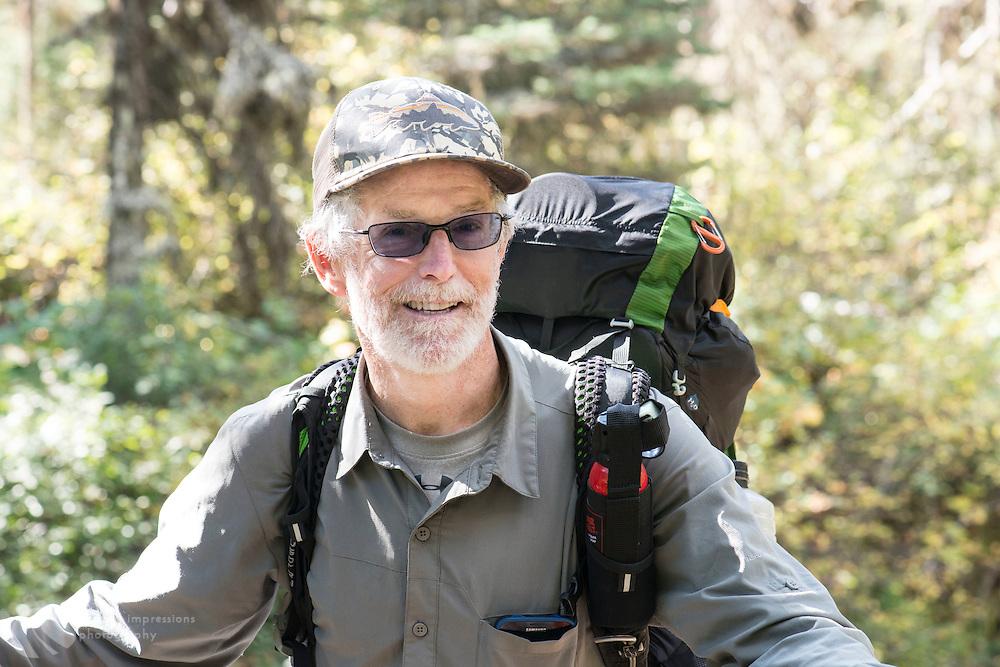 Race; hiker; continental divide