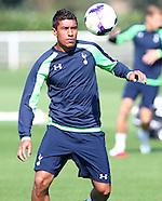 Tottenham Training & PC 280813
