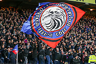 The Crystal Palace ultras during the Premier League match between Crystal Palace and Manchester United at Selhurst Park, London, England on 5 March 2018. Picture by Phil Duncan.