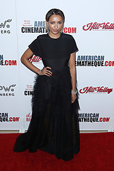 Kat Graham at the 31st Annual American Cinematheque Awards Gala held at the Beverly Hilton Hotel on November 10, 2017 in Beverly Hills, California, USA (Photo by Art Garcia/Sipa USA)
