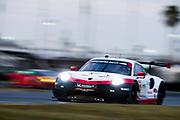 January 5-7, 2018. IMSA Weathertech Series ROAR before 24 test. 912 Porsche GT Team, Porsche 911 RSR, Laurens Vanthoor, Earl Bamber, Gianmaria Bruni