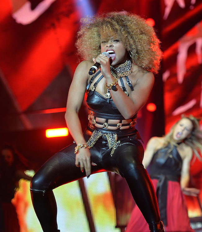 X Factor Tour  Belfast  opening night <br /> Fleur East, opens the show <br />Pix Dave Nelson