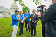 ASMP and Visual Group Members advocate at the US Capitol for the CASE Act 2019 co-sponsored by Reps. Hakeem Jeffries (D-NY) and Doug Collins (R-GA), Wednesday, May 1, 2019. (Photo by Max Taylor)