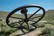 Image from Bodie State Historic Park near Mono Lake and Bridgeport, California.