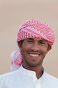 Portrait of a man, Dubai, United Arab Emirates