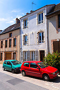 Street scene in Hautvillers near Epernay, Champagne-Ardenne, France