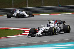 October 1, 2017 - Sepang, Malaysia - Motorsports: FIA Formula One World Championship 2017, Grand Prix of Malaysia, ..#18 Lance Stroll (CAN, Williams Martini Racing) (Credit Image: © Hoch Zwei via ZUMA Wire)