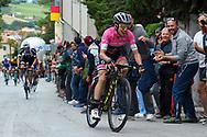Simon Yates (GBR - Mitchelton - Scott) during the 101th Tour of Italy, Giro d'Italia 2018, stage 11, Assisi - Osimo 156 km on May 16, 2018 in Italy - Photo Dario Belingheri / BettiniPhoto / ProSportsImages / DPPI