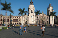 Afternoon on Lima's main square