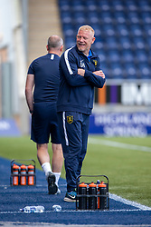 Livingston manager Gary Holt. Falkirk 1 v 1 Livingston, Livingston win 4-3 on penalties. BetFred Cup game played 13/7/2019 at The Falkirk Stadium.