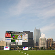 A general view of Highmark Stadium before the match.  - Pittsburgh Riverhounds vs. Wigan Athletic - Pre-Season Friendly at Highmark Stadium, Pittsburgh - 19/07/2013 - Mandatory Credit: Pixel8 Photos/Jack Megaw - +44(0)7734 151429 - info@pixel8photos.com - NO UNPAID USE.