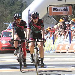 20-04-2016: Wielrennen: Waalse Pijl vrouwen: Huy  <br />HUY (BEL) cycling The Fleche Walone is the last springrace in the Womens Worldtour. Lisa Brennauer