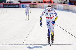 March 16, 2018 - Falun, SVERIGE - 180316 Viktor Thorn, Sverige deppar efter  semifinalen i sprint under Svenska Skidspelen den 16 mars 2018 i Falun  (Credit Image: © Simon HastegRd/Bildbyran via ZUMA Press)