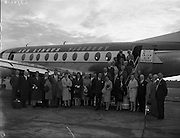 Aer Lingus - Guests for Whitegate Refinery  Company Arrive<br /> 21/09/1959 April 1986 St Catherine's Church, Tinkers Camp, Finglas, Building on Quays near Bridge St, Monkstown Castle, Gypsy Style Caravan Near Lucan, Thomas St, near old fire station, The Clock Pub Thomas St,