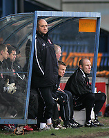 Photo: Paul Thomas.<br /> Mansfield Town v Walsall. Coca Cola League 2. 20/01/2007.<br /> <br /> Richard Money, manager of Walsall.