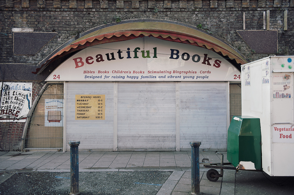 Beautiful Books. <br /> 24 Brixton Station Road.<br /> <br /> The bookstore opened 20 years ago.