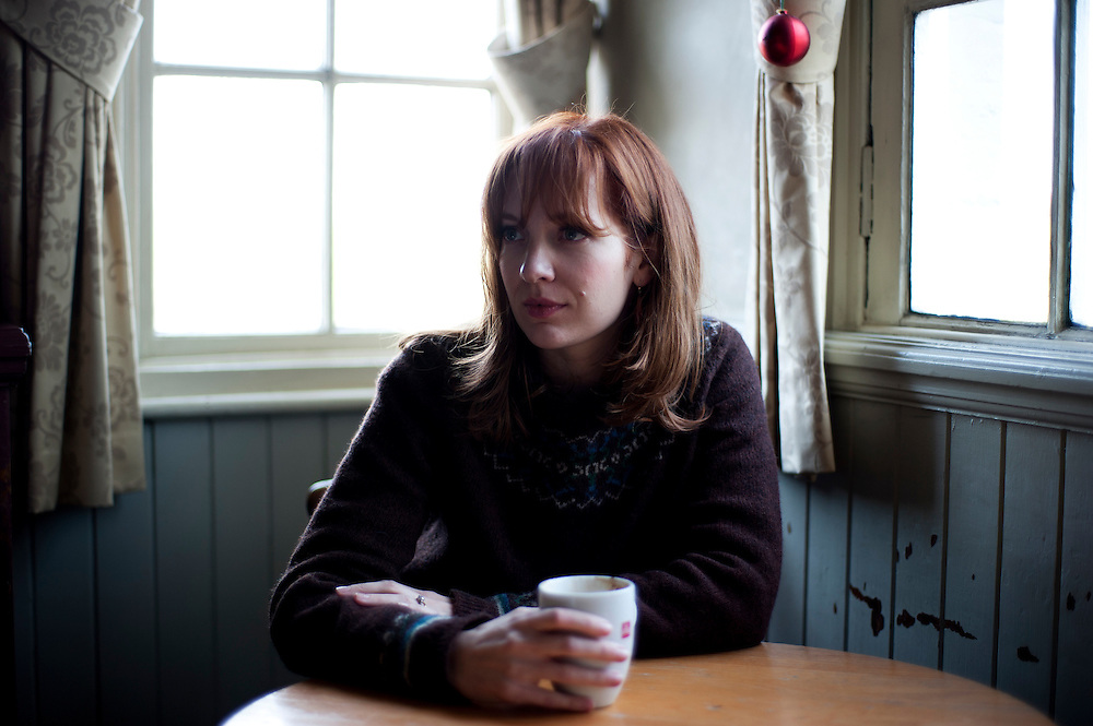 Comedian IT Girl  actor Katherine Parkinson poses for portraits at one of her local pubs near her home in Blackheath, SE London on November 25th 2011.