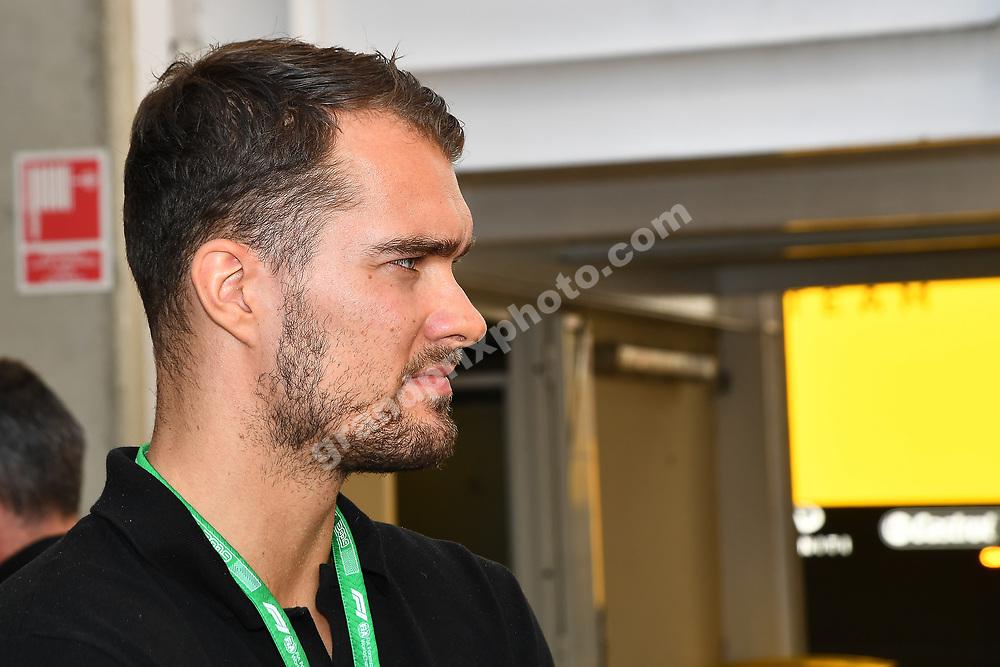 Danish handball world champion Casper U Mortensen at the 2019 Spanish Grand Prix at the Circuit de Barcelona-Catalunya. Photo: Grand Prix Photo