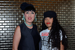 Rossy de Palma and daughter Luna Mary attending the Jean-Paul Gaultier Haute Couture Paris Fashion Week Fall/Winter 2018/19 held in Paris, France on july 04, 2018. Photo by Aurore Marechal/ABACAPRESS.COM