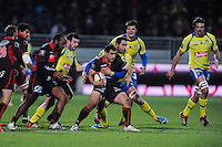 George Smith - 28.12.2014 - Lyon Olympique / Clermont - 14eme journee de Top 14 <br />Photo : Jean Paul Thomas / Icon Sport