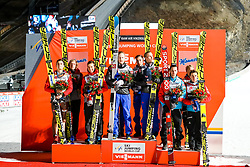 18.03.2017, Vikersundbakken, Vikersund, NOR, FIS Weltcup Ski Sprung, Raw Air, Vikersund, Team Skifliegen, im Bild Polen, 2. Platz, Sieger Team Norwegen, Österreich, 3. Platz // Poland, 2nd place, winner team Norway, Austria, 3rd place // during the Team Event of the 4th Stage of the Raw Air Series of FIS Ski Jumping World Cup at the Vikersundbakken in Vikersund, Norway on 2017/03/18. EXPA Pictures © 2017, PhotoCredit: EXPA/ Tadeusz Mieczynski