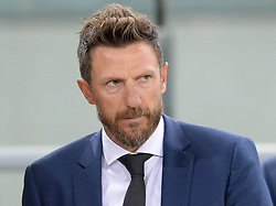 September 26, 2018 - Rome, Italy - Eusebio Di Francesco during the Italian Serie A football match between A.S. Roma and Frosinone at the Olympic Stadium in Rome, on september 26, 2018. (Credit Image: © Silvia Lore/NurPhoto/ZUMA Press)