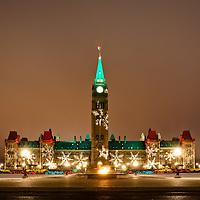 Travel - Parliament Hill in Ottawa