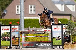 Vincentius Alexander, NED, Jezebel W<br /> Nationaal Kampioenschap KWPN<br /> 6 jarigen springen final<br /> Stal Tops - Valkenswaard 2020<br /> © Hippo Foto - Dirk Caremans<br /> 19/08/2020