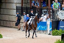 Donckers Karin, BEL, Fletcha van't Verahof<br /> World Equestrian Games - Tryon 2018<br /> © Hippo Foto - Dirk Caremans<br /> 14/09/2018