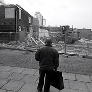NLD/Huizen/19921121 - Sloop panden Lindelaan Huizen