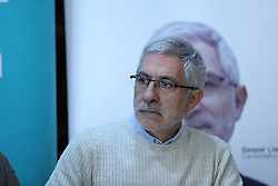 March 22, 2019 - Madrid, Spain - Press conference of the candidate of Actua to the Presidency of the Government, Gaspar Llamazares. (Credit Image: © Jesus Hellin/ZUMA Wire)