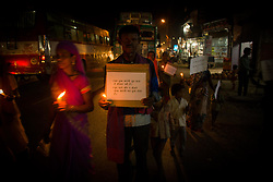 May 10, 2017 - Chitrakoot Dham Karwi, Uttar pradesh, India - Peace march for a 13 year old, rape and murder victim girl who was raped on January 13, 2017 and march against child labor in India. (Credit Image: © Akshay Gupta/Pacific Press via ZUMA Wire)