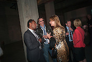 ROUBI L. ROUBI; PIERRE LAGRANGE; PRINCESS ROSARIA OF PRESLAV, The Tanks at Tate Modern, opening. Tate Modern, Bankside, London, 16 July 2012