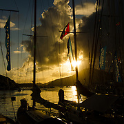 Before the race.<br /> <br /> 2015. Wonderful yachts and passionate sailors, from all over the world, are gathering in Antigua for the 28th edition of the Antigua Classic Yacht Regatta, sponsored by Panerai.