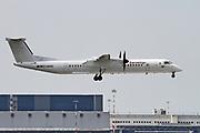D-ABQQ Eurowings Bombardier DHC-8-402Q Dash 8 at Malpensa (MXP / LIMC), Milan, Italy