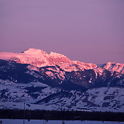 The Grand Tetons in Wyoming Rocky Mountain Range