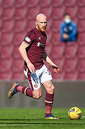 Liam Boyce (#10) of Heart of Midlothian FC during the SPFL Championship match between Heart of Midlothian and Inverness CT at Tynecastle Park, Edinburgh Scotland on 24 April 2021.