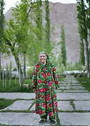 The Khorog park, funded by the Aga Khan Foundation.<br /> <br /> The town of Khorog (2200m), is the capital of the Gorno-Badakhshan Autonomous Province (GBAO) in Tajikistan. It is situated in the Pamir Mountains (ancient Mount Imeon) at the confluence of the Gunt and Panj rivers.<br /> The city is bounded to the south and to the north by the deltas of the Shakhdara and Gunt rivers, respectively. The two rivers merge in the eastern part of the city flow through the city, dividing it almost evenly until its delta in the river Panj, also being known as Amu Darya, or in antiquity the Oxus on the border with Afghanistan. Khorog is known for its beautiful poplar trees that dominate the flora of the city.<br /> Khorog is one of the poorest areas of Tajikistan, with the charitable organization Aga Khan Foundation providing almost the only source of cash income. Most of its inhabitants are Ismaili Muslims.<br /> <br /> Tajikistan, a mountainous landlocked country in Central Asia. Afghanistan borders it to the south, Uzbekistan to the west, Kyrgyzstan to the north, and People's Republic of China to the east. Tajikistan also lies adjacent to Pakistan separated by the narrow Wakhan Corridor.<br /> Tajikistan became a republic of the Soviet Union in the 20th century, known as the Tajik Soviet Socialist Republic.<br /> It was the first of the Central Asian republic to gain independence in December 1991.