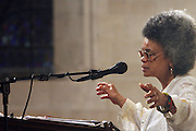 Sonia Sanchez at the Celebration of the Life and Legacy of Dr. Barabara Ann Teer at the Memorial Service held at The Riverside Church in Harlem, NY on Monday, July 28, 2008