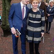 NLD/Naarden/20160325 - Mattheus Passion 2016 Naarden, Wim Pijbes en partner Mignon Slichter